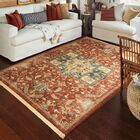 Ober Red Area Rug Rug Size: Rectangle 7'10
