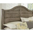 Westerberg Maple Shiplap Panel Headboard Color: Gray, Size: Full