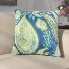Eugenio Floral Cotton Throw Pillow