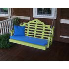 Durfee Porch Swing Color: Lime, Size: 27