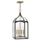 Jeremie 4-Light Foyer Pendant Finish: Bronze