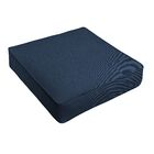 Indoor/Outdoor Sunbrella Dining Chair Cushion Fabric: Dark Blue, Size: 25