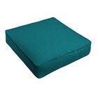 Indoor/Outdoor Sunbrella Dining Chair Cushion Fabric: Light Blue, Size: 29