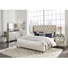 Mcmorrow Upholstered Panel Bed Color: Champagne, Size: Queen
