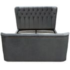 Allure Upholstered Platform Bed Size: King