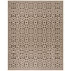 Sherell Cream/Brown Area Rug Rug Size: Rectangle 8' x 10'