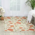 Cragin Ivory/Red Area Rug