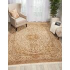 Pickrell Hand-Knotted Wool Beige Area Rug Rug Size: Retangle 8'6