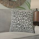 Berend Animal Print Cotton Throw Pillow