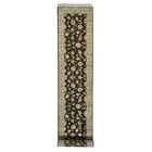 One-of-a-Kind Salzer Hand-Knotted Brown Area Rug