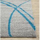Caressa Turquoise/Gray Area Rug Rug Size: Rectangle 9' x 12'