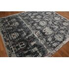 One-of-a-Kind Fleckenstein Hand-Knotted Wool Gray/Blue Area Rug