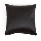 Fairview Solid Natural Leather Pillow Cover Size: 20