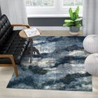 Zhora Navy Area Rug Rug Size: Rectangle 9'6
