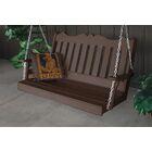 Durfee Porch Swing Color: Tudor Brown
