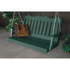 Durfee Porch Swing Color: Turf Green