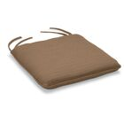 Bar Sunbrella Dining Chair Cushion Fabric: Dupione Walnut