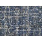 Aparicio Blue/Gray Area Rug Rug Size: Rectangle 3'10