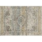 Palmore Ivory Area Rug Rug Size: Rectangle 2'7