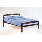 Hocking Full Bed Frame Color: Chocolate