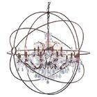 Okello 15-Light Globe Chandelier Finish: Gray Iron