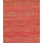 Modern Flat Weave Hand-Knotted Silk Red Area Rug