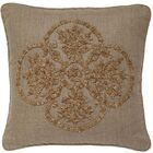 Mcguire Boucle Embroidery Linen Pillow Cover