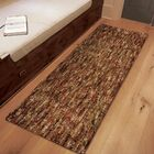 Caston Solid Design Red/Beige Area Rug Size: Runner 1'11