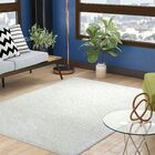 Fick Ivory Area Rug Rug Size: Rectangle 5'3