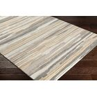 Farlow Hand-Woven Tan/Gray Area Rug Rug Size: Rectangle 2' x 3'