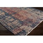 Pelayo Hand-Knotted Wool Navy/Burgundy Area Rug Rug Size: Rectangle 6' x 9'