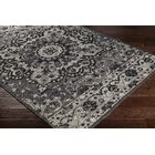 Pelaez Hand-Woven Black/Gray Area Rug Rug Size: Rectangle 8' x 10'