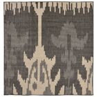 Finklea Ikat Gray/Ivory Indoor/Outdoor Area Rug Rug Size: Square 7'9