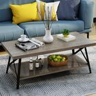 Gamble Coffee Table Color: Gray