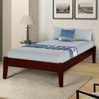 Etting Twin Platform Bed Color: Cherry