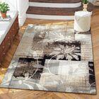 Yadira Brown/Gray Area Rug Rug Size: Rectangle 8' x 10'