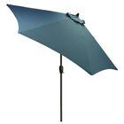 Hulme Solid 8.9' Market Umbrella Fabric Color: Medium Blue