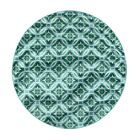 Lexington Medallion Indoor/Outdoor Area Rug Rug Size: Round 7'8