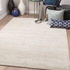 Eastvale Hand-Woven London Fog/Oatmeal Area Rug Rug Size: Rectangle 2' x 3'