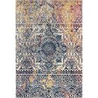 Penson Transitional Beige/Gray Area Rug Rug Size: Rectangle 7'6