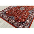Parrett Transitional Crimson Area Rug Rug Size: Rectangle 7'9
