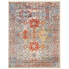 Penton Transitional Red/Blue Area Rug Rug Size: Rectangle 2'6