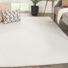 Majeski Hand-Woven Wool Marshmallow/Chateau Gray Area Rug Rug Size: Rectangle 2' x 3'