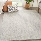Paredes Hand-Tufted Gray Area Rug Rug Size: Rectangle 5' x 8'