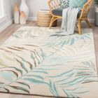 Lindenwood Hand-Tufted Aqua Blue/Green Area Rug Rug Size: Rectangle 5' x 8'