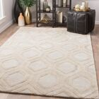 Heberling Hand-Tufted Chateau Gray/Goat Area Rug Rug Size: Rectangle 9' x 13'