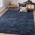 Eaddy Hand-Tufted Blue Nights/Mood Indigo Area Rug Rug Size: Rectangle 8' x 11'