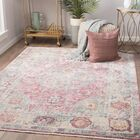 Patchen Lily White/Desert Rose Area Rug Rug Size: Rectangle 9' x 12'