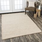 Holler Hand-Woven Wool Tan Area Rug Rug Size: Rectangle 5' x 7'6
