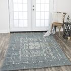 Gomes Hand-Tufted Wool Gray Area Rug Rug Size: Rectangle 10' x 13'